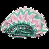 Детская простынь на резинке Солодкий Сон Бязь Зигзаг 80х160см. Мятный/розовый