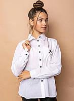 Стильная рубашка для девочек