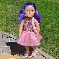 Говорящая интерактивная кукла Ника (48 см): говорит, поет песню, рассказывает стих на украинском языке