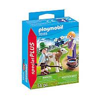 """Ігровий набір """"Діти з телям"""" Playmobil (4008789701558), фото 1"""