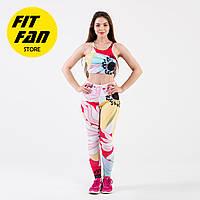 Женский спортивній костюм для фитнеса бега йоги Fit Fan Cool Chic