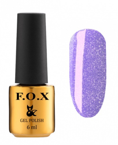 Гель-лак для ногтей с шиммером F.O.X Dolls Princess №572 6мл