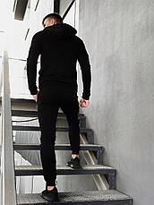 Спортивные мужские штаны 'Cosmo' Intruder брюки трикотажные черные размеры :S M L XL XXL, фото 3