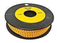 Маркировка кабельная МК1 1.5-2.5мм2 символ «0» 1000шт/рол TechnoSystems TNSy5502418