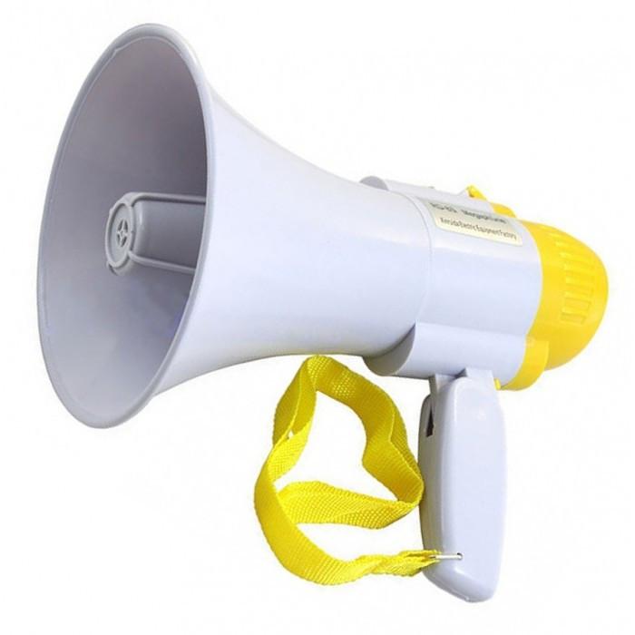 Ручний мегафон з складною ручкою і ремінцем   Рупор   Гучномовець MEGAPHONE HW 8C