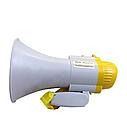 Ручний мегафон з складною ручкою і ремінцем   Рупор   Гучномовець MEGAPHONE HW 8C, фото 3