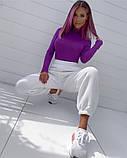 Женские трикотажные штаны джоггеры, цвета в ассортименте, Р-р.42-44,44-46,48-50 Код 478Ц, фото 2