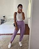 Женские трикотажные штаны джоггеры, цвета в ассортименте, Р-р.42-44,44-46,48-50 Код 478Ц, фото 4
