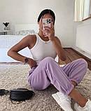 Женские трикотажные штаны джоггеры, цвета в ассортименте, Р-р.42-44,44-46,48-50 Код 478Ц, фото 5