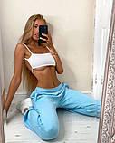 Женские трикотажные штаны джоггеры, цвета в ассортименте, Р-р.42-44,44-46,48-50 Код 478Ц, фото 7