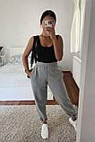 Женские трикотажные штаны джоггеры, цвета в ассортименте, Р-р.42-44,44-46,48-50 Код 478Ц, фото 8