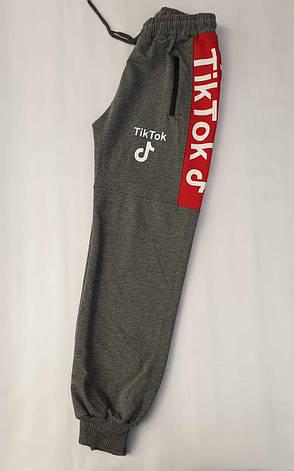 Спортивные штаны для мальчиков 122,128,134,140,146 роста Tik Tok & Турция, фото 2