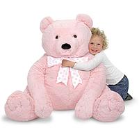 Медведь плюшевый Melissa&Doug MD3980 (76см х 69см)