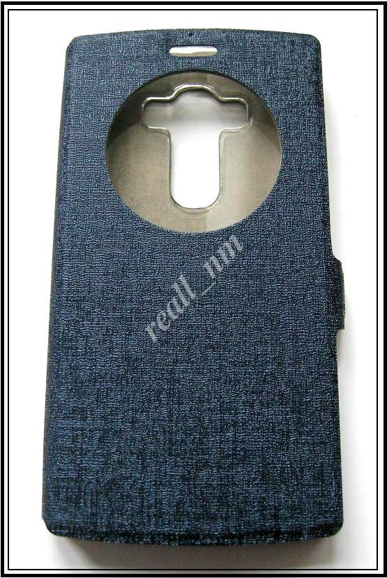 Синий Silk MC чехол-книжка Quick Circle для смартфона LG G4s H734