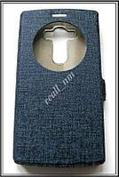 Синий Silk MC чехол-книжка Quick Circle для смартфона LG G4s H734, фото 1