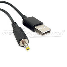 Кабель питания USB to DC 3.0x1.1 мм , 0.9 м