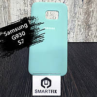 Силіконовий чохол для Samsung S7 (G930) Зелений
