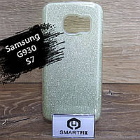 Блискучий чохол для Samsung S7 (G930)