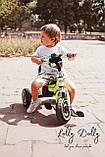 Триколісний велосипед Turbotrike M 3650 з музикою та підсвіткою, салатовий, фото 3