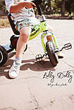 Триколісний велосипед Turbotrike M 3650 з музикою та підсвіткою, салатовий, фото 2