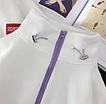 Спортивний костюм жіночий Security з укороченим худі і штанами на манжетах р. єдиний 42-44 77051067, фото 3