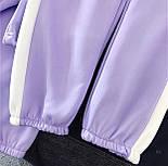 Спортивний костюм жіночий Security з укороченим худі і штанами на манжетах р. єдиний 42-44 77051067, фото 5