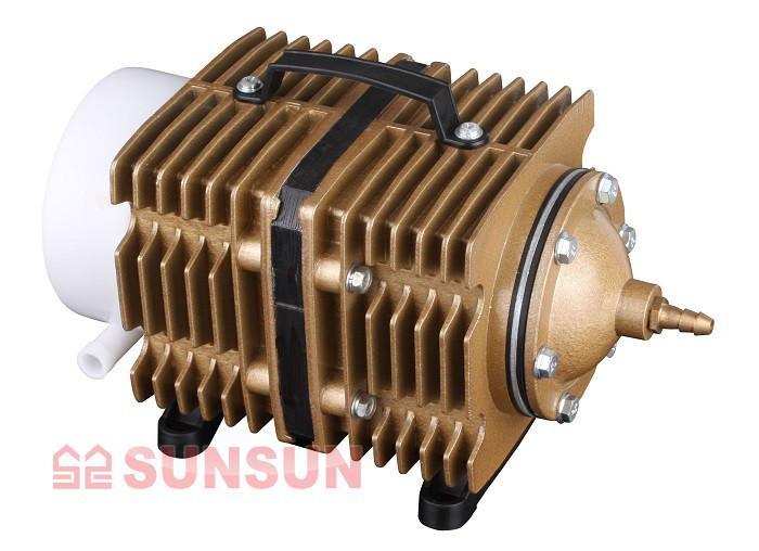 Компрессор поршневой для аквариума, пруда, водоема SunSun ACО-012 (150 л/мин)
