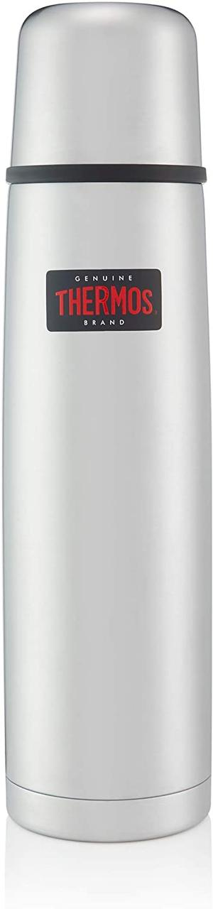 Термос Thermos Light and Compact Flask, Midnight Silver, 0.75 L