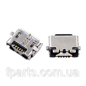 Коннектор зарядки Nokia E7-00, 5pin micro-USB тип-B