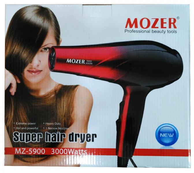 Фен для волос,фен профессиональный для волос MOZER 3000 Вт