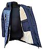 Модные зимние куртки и пуховики для мальчиков принтованные размеры 32-42, фото 4