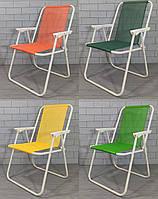 Кресло раскладное для отдыха и туризма усиленное 52*48*76см. Стул туристический складной MH-3075