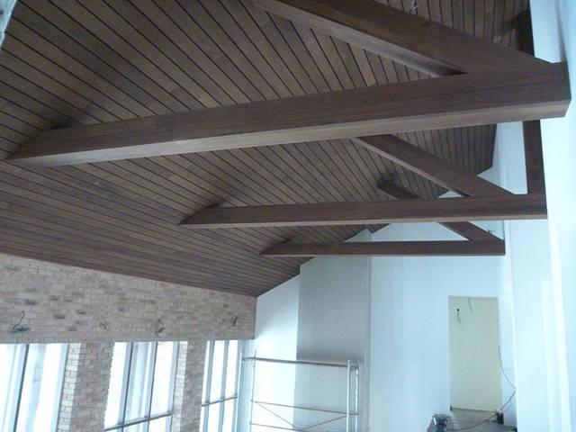 Подшива кровли (потолка), материал термоясень 20х130мм .