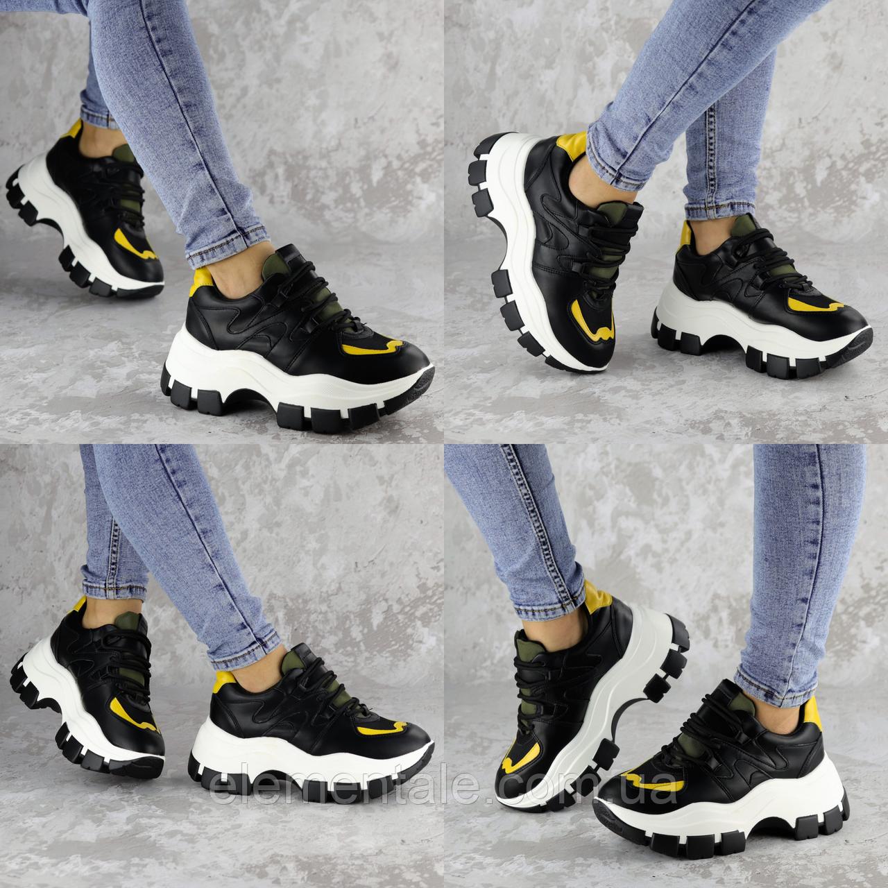 Кроссовки женские Fashion Andre 2173 36 размер 22,5 см Черный Размер 36 - 22,5 см