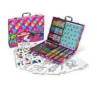 Набор для детского творчества Крайола в чемодане кейсе скрапбукинг Тролли Trolls Glitter Scrapbook Kit