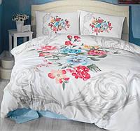 Постельное белье Cotton box Ранфорс Floral Seri 3D MERITURKUAZ