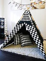 Детская палатка вигвам+коврик - Alice in Wonderland