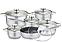 Набор посуды Edenberg EB-4040 из 12 предметов c 7 слойным дном, фото 2