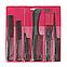 Набор расчесок для волос Eurostil 00950, 6 шт/уп, фото 4