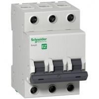 Автоматический выключатель Easy9 3п 16А С 4,5 кА