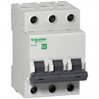 Автоматический выключатель Easy9 3п 50А С 4,5 кА