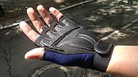 Антивибрационные перчатки с укороченными пальцами.