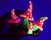 Люминофор белый зеленое свечение, размер 5-15 мкм, пробник,10 г (пигмент, светящийся в темноте), фото 1