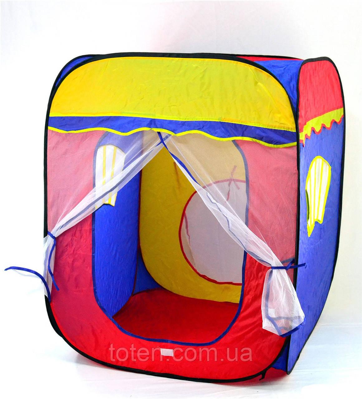 Детская игровая палатка Карета 3003 большая