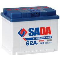 Акумуляторная батарея SADA 6СТ-62Аз SP