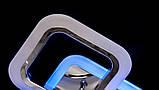 Потолочная люстра с диммером и разноцветной LED подсветкой AS8060/4+2HR LED 3color dimmer, фото 3