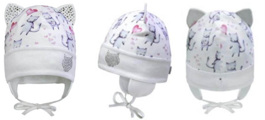 Детская демисезонная шапка для девочек ТМ David's Star