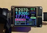 USB быстрое зарядное QC 3,0 / AFC 12V/ FCP 9.0V врезная 12-24в 18 Вт/3A с вольтметром влагостойкое  авто мото, фото 3