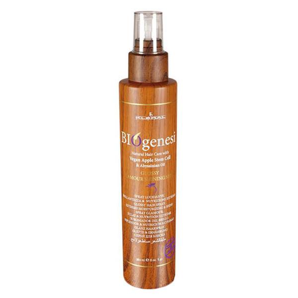 Блеск для волос Kleral System Biogenesi Glossy Spray 160 мл