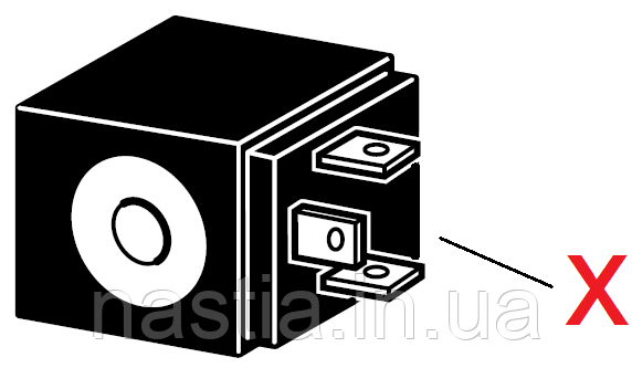 C205 Катушка електроклапана, 24V, 50Hz, 9W, d=15mm